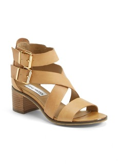Steve Madden 'Rosana' Double Ankle Strap Leather Sandal (Women)