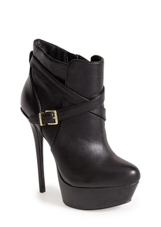 Steve Madden 'Sasssyy' Leather Platform Bootie (Women)