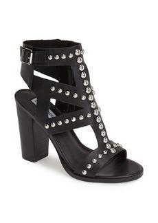 Steve Madden 'Serenna' Studded Caged Leather Sandal (Women)