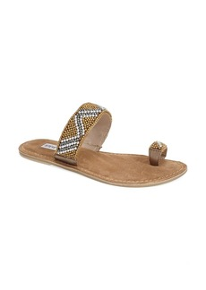 Steve Madden 'Shapiro' Beaded Sandal (Women)