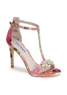 Steve Madden 'Shawna' Embellished T-Strap Sandal (Women)