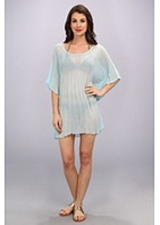 Steve Madden Solid Pleated Tunic
