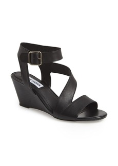 Steve Madden 'Stipend' Wedge Leather Sandal (Women)