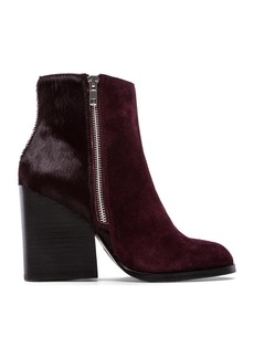 Steve Madden Studio Bootie with Cow Hair