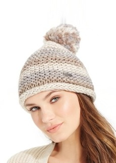 Steve Madden Time To Shine Cuff Hat with Pom