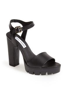 Steve Madden 'Traiin' Platform Sandal (Women)