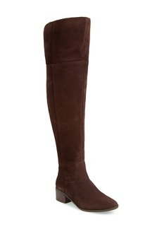Steve Madden Suede Over the Knee Boot (Women)