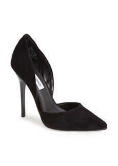Steve Madden 'Varcityy' Suede Pointy Toe Pump (Women)