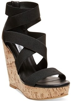 Steve Madden Women's Abbby Platform Wedge Sandals Women's Shoes
