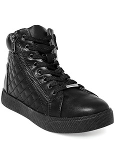 Steve Madden Women's Caffine High Top Quilted Sneakers
