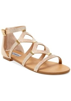 Steve Madden Women's Castel Embellished Flat Sandals Women's Shoes