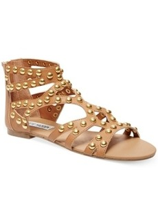 Steve Madden Women's Culver-s Embellished Gladiator Flat Sandals (Only at Macy's) Women's Shoes