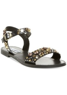 Steve Madden Women's Donddi-s Studded Flat Sandals Women's Shoes