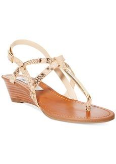 Steve Madden Women's Flirting Demi Wedge Sandals