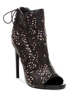 Steve Madden Women's Korsett Open-Toe Booties