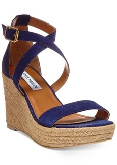 Steve Madden Women's Montaukk Platform Wedge Sandals Women's Shoes