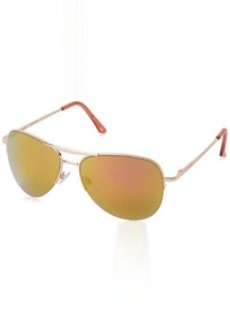 Steve Madden Women's S5488 Aviator Sunglasses