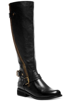 Steve Madden Women's Synicle Wide-Calf Tall Boots