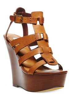 Steve Madden Women's Winslet Caged Platform Wedge Sandals