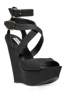 Steve Madden Women's Xfoliate Platform Wedge Sandals