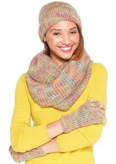 Steve Madden Woven Fingerless Gloves