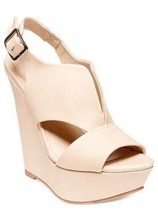 Steve Madden Xander Platform Wedge Sandals Women's Shoes