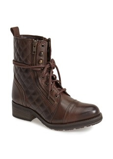 Steve Madden 'Yanki' Quilted Leather Mid Boot (Women)