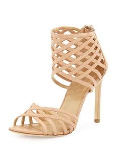 Stuart Weitzman Cajun Strappy Woven Sandal