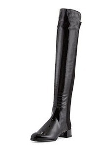 Fifo Patent Stretch Over-the-Knee Boot   Fifo Patent Stretch Over-the-Knee Boot