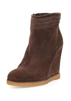 Meridian Wedge Ankle Boot, Seal   Meridian Wedge Ankle Boot, Seal