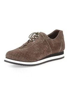 Relay Suede Lace-Up Sneaker, Seal   Relay Suede Lace-Up Sneaker, Seal