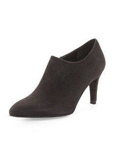 Standin Suede Bootie, Anthracite (Made to Order)   Standin Suede Bootie, Anthracite (Made to Order)