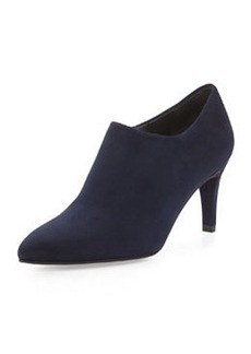 Standin Suede Bootie, Nice Blue (Made to Order)   Standin Suede Bootie, Nice Blue (Made to Order)