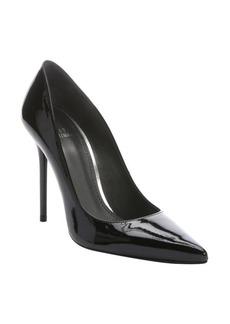 Stuart Weitzman black patent leather 'Nouveau' stiletto pumps