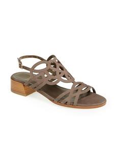 Stuart Weitzman 'Filigree' Leather Sandal