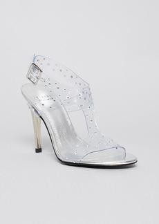 Stuart Weitzman Open Toe Evening Sandals - Lookinggood High Heel