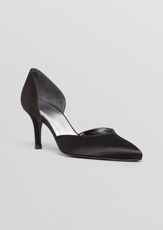 Stuart Weitzman Pointed Toe D'Orsay Evening Pumps - Twice
