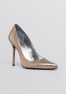 Stuart Weitzman Pointed Toe Evening Pumps - Nouveau High Heel