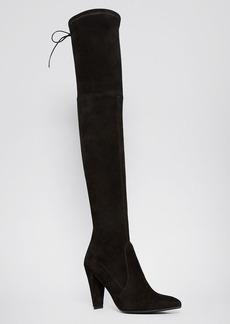 Stuart Weitzman Pointed Toe Over The Knee Boots - Highstreet High Heel