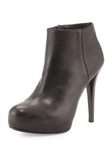 Stuart Weitzman Right Platform Ankle Boot, Black