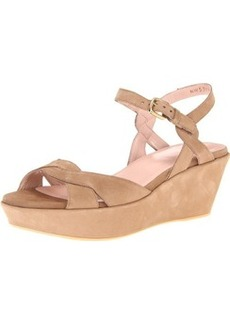Stuart Weitzman Womens Lockness Wedge Sandal