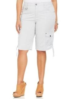 Style & co. Plus Size Cargo Bermuda Shorts