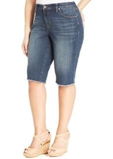 Style & co. Plus Size Denim Bermuda Shorts