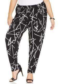 Style & co. Plus Size Geo-Print Soft Pants