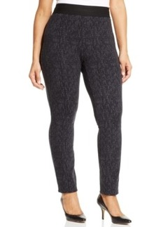 Style & co. Plus Size Graphic-Print Pull-On Pants