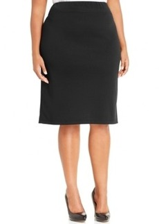 Style & co. Plus Size Ponte-Knit Pencil Skirt, Only at Macy's