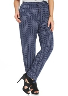 Style & co. Plus Size Printed Soft Pants