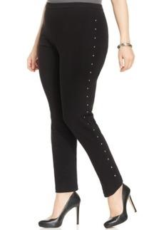 Style & co. Plus Size Rhinestone-Studded Leggings