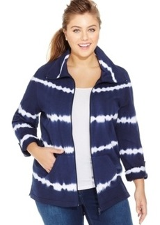 Style & co. Plus Size Tie-Dye Jacket