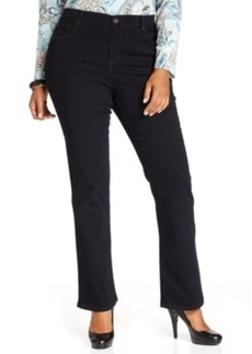 Style & co. Plus Size Tummy Control Bootcut Jeans, Rinse Wash